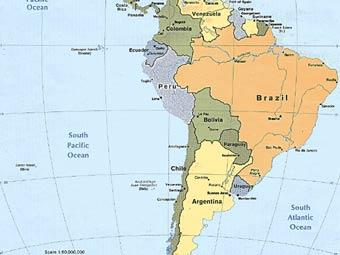 карта бразильского учебника
