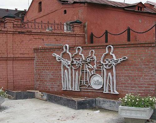 памятник битлз в екатеринбурге