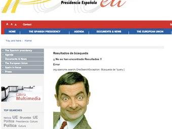 Хулиганство хакеров сделало сайт eu2010.es весьма популярным.