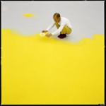 художник Вольфганг Лайб создает инсталяцию Пыльца лесного ореха