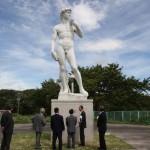 копия статуи Давид Микеланджело в Японии