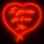любовное неоновое послание от Трейси Эмин