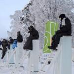 турнир по сидению на ледяных столбах